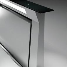 Вытяжка FALMEC DOWNDRAFT GLASS BLACK 90 (вытяжка, в столешницу, черное стекло, без мотора)