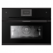 Компактный встраиваемый электрический духовой шкаф-пароварка Kuppersbusch CBD 6550.0 S5 Black Velvet