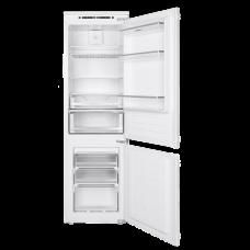 Встраиваемый двухкамерный холодильник MAUNFELD MBF177NFFW