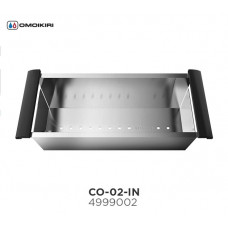Коландер с ручками OMOIKIRI CO-02-IN (4999002)