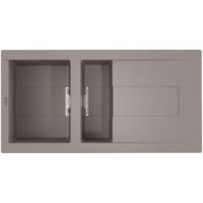 Мойка Banzen 100-GR (4993997) Leningrad Grey