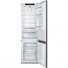 Встраиваемый двухкамерный холодильник Smeg C7194N2P