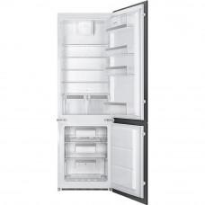 Встраиваемый двухкамерный холодильник Smeg C7280NEP1