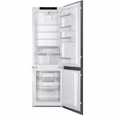 Встраиваемый двухкамерный холодильник Smeg C7280NLD2P1