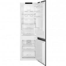 Встраиваемый двухкамерный холодильник Smeg C8175TN2P
