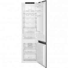 Встраиваемый двухкамерный холодильник Smeg C8194TN2P