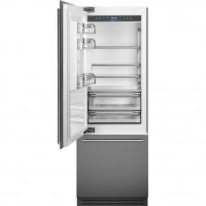 Встраиваемый двухкамерный холодильник Smeg RI76LSI