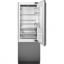 Встраиваемый двухкамерный холодильник Smeg RI76RSI