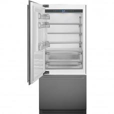 Встраиваемый двухкамерный холодильник Smeg RI96LSI