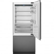 Встраиваемый двухкамерный холодильник Smeg RI96RSI