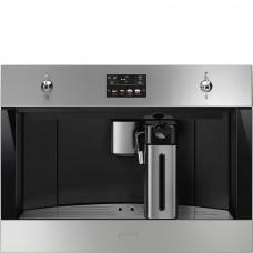 Встраиваемая автоматическая кофемашина Smeg CMS4303X Classica